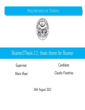 Sample Thesis Proposal Forms - 8 Free Documents in Word, PDF